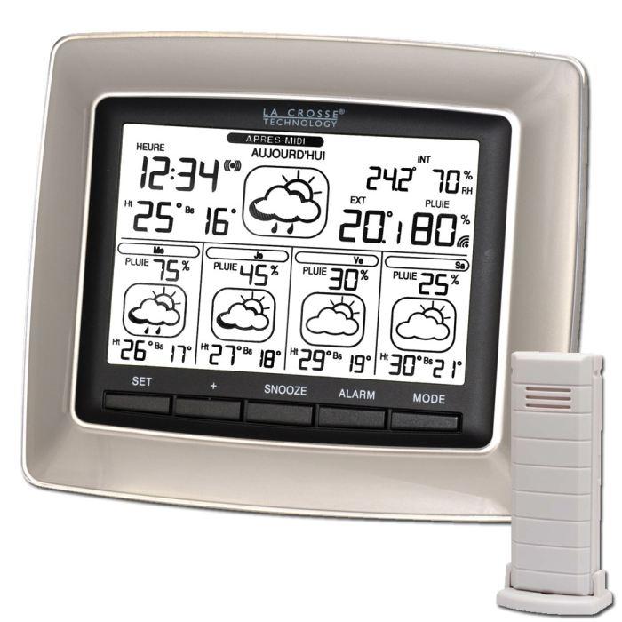 Notice la crosse technology wd6006 mode d 39 emploi notice for Star meteo probleme temperature exterieur