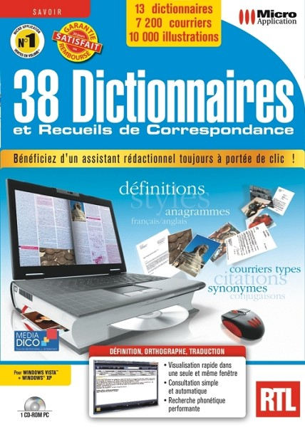 CORRESPONDANCE DE TÉLÉCHARGER MEDIADICO DICTIONNAIRE 38 RECUEILS ET