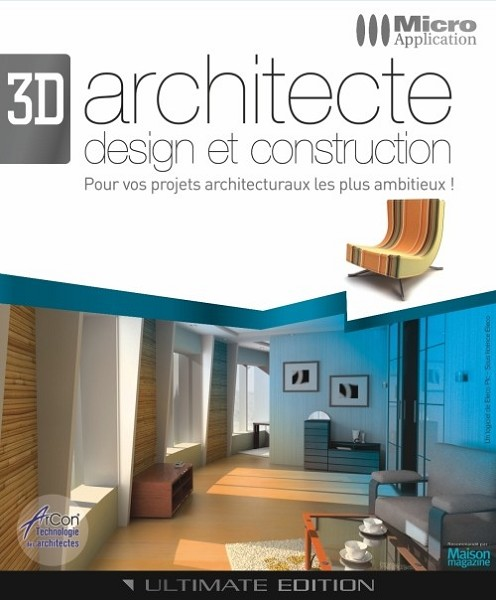 Notice micro application 3d architecte design et for 3d architecte micro application