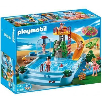 Notice playmobil piscine avec toboggan 4858 mode d 39 emploi for Piscine playmobil