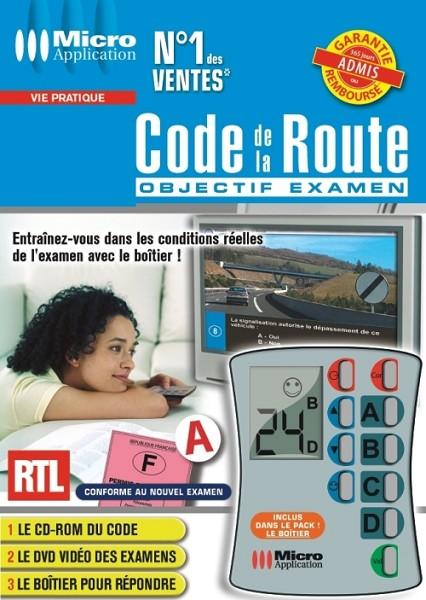 notice micro application code de la route objectif examen mode d 39 emploi notice code de la. Black Bedroom Furniture Sets. Home Design Ideas