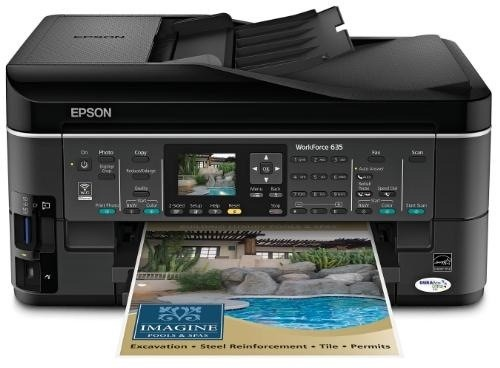 notice epson workforce 635 mode d 39 emploi notice workforce 635. Black Bedroom Furniture Sets. Home Design Ideas