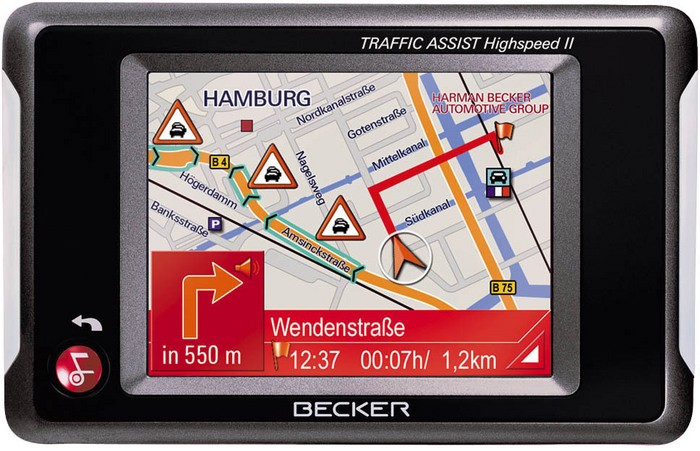 notice becker traffic assist highspeed ii 7988 mode d. Black Bedroom Furniture Sets. Home Design Ideas