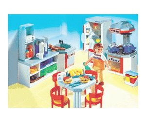 notice playmobil cuisine quip e 4283 mode d 39 emploi notice cuisine quip e 4283. Black Bedroom Furniture Sets. Home Design Ideas