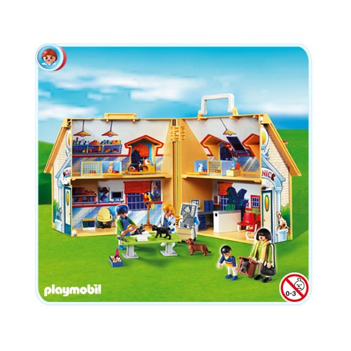 notice playmobil 4374 clinique v t rinaire transportable. Black Bedroom Furniture Sets. Home Design Ideas