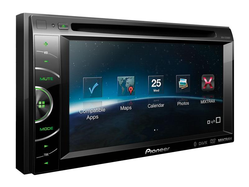 Notice Pioneer Avh-x2500bt  Mode D U0026 39 Emploi