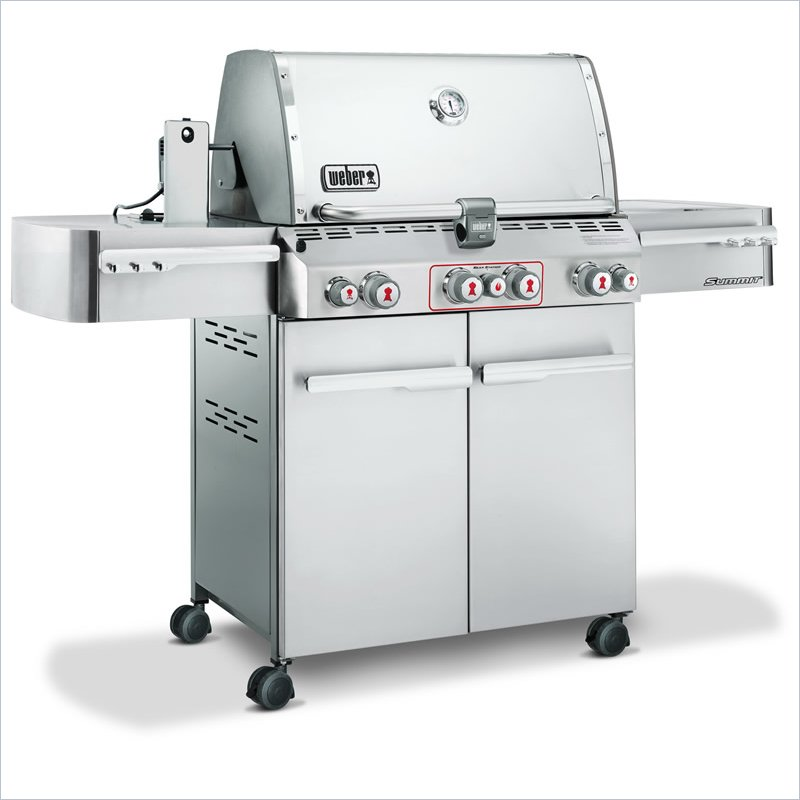 Notice weber summit s 470 mode d 39 emploi notice summit s 470 - Allumer barbecue weber ...