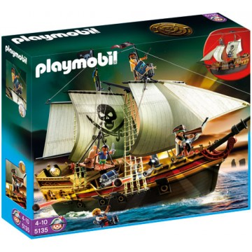notice playmobil bateau d 39 attaque des pirates 5135 mode d. Black Bedroom Furniture Sets. Home Design Ideas