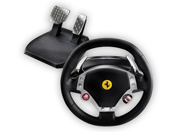 notice thrustmaster ferrari f430 force feedback racing. Black Bedroom Furniture Sets. Home Design Ideas