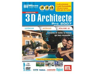 Notice Micro Application 3d Architecte Pro 2007 Plus Mode