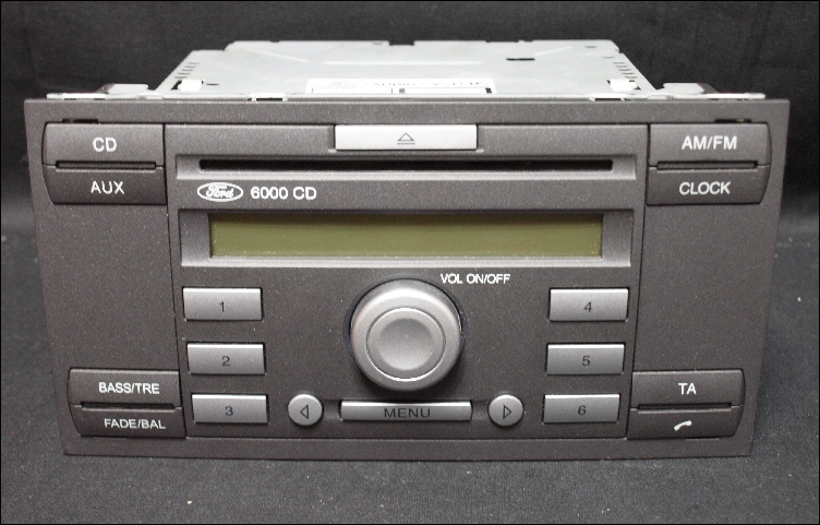 autoradio ford 6000 cd ford 6000 cd carradio car radio. Black Bedroom Furniture Sets. Home Design Ideas