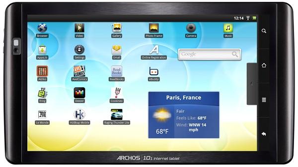 produits  ARCHOS Internet Tablet