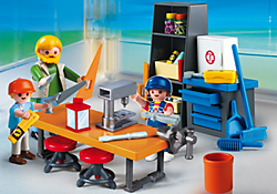 notice playmobil 4326 classe de technologie mode d 39 emploi. Black Bedroom Furniture Sets. Home Design Ideas