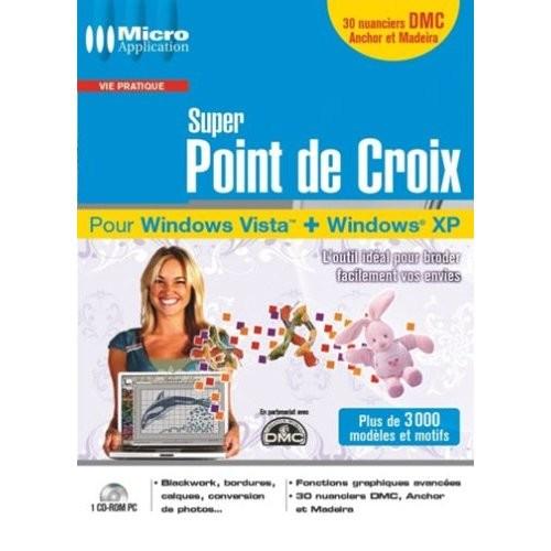 Notice Micro Application Super Point de Croix, mode d'emploi - notice Super Point de Croix